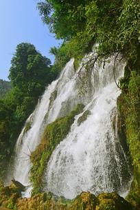 贵州荔波小七孔拉雅瀑布