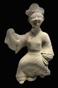 汉代成都宴饮场景-陶女舞俑