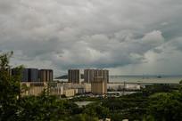 深圳海边小区海景