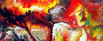 动感创意抽象油画