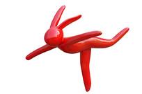 抽象人物雕塑-滑冰运动