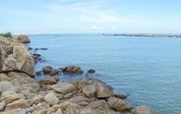 海南海滩沙滩海边