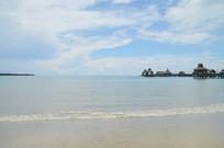 海南海滩沙滩海边风光图片