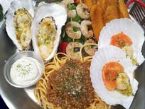 扇贝海鲜饭