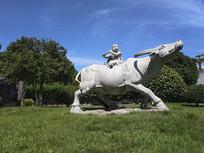 牧童短笛骑牛