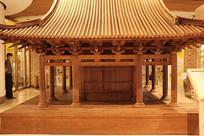 保国寺古建模型