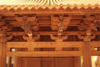 古建筑斗拱细节