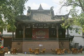 成都西来古镇-古戏台