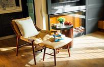 样板间公寓小沙发