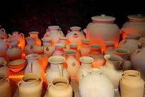 长沙铜官陶瓷窑炉烧窑复原场景
