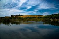 嘉峪关周边湖景