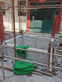 老房改造之户外电梯工程