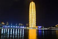 中原第一高楼夜景