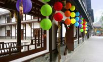 成都大慈寺中式庭院