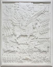 历史浮雕秦统一六国