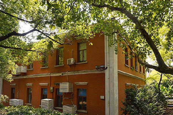 橘子洲中西合璧风格建筑