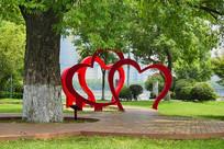 长沙橘子洲心门景观雕塑