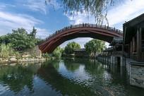 襄阳唐城虹桥风光图片
