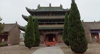高大庙宇古建筑