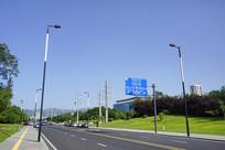 成都龙泉国际汽车城地区公路