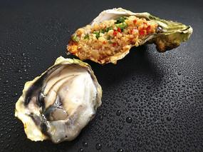 蒜泥烤生蚝肉