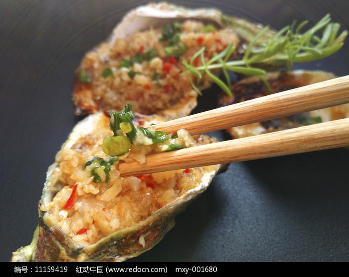 蒜泥新鲜生蚝肉