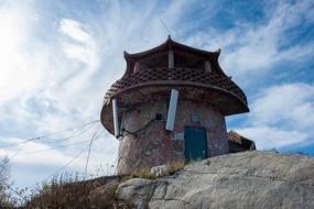 重庆巫山梨子坪林场了望塔