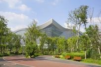 成都桂溪公园绿道-环球中心