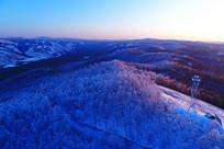 大兴安岭雪域山林