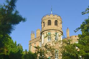 青岛欧洲古城堡式建筑花石楼