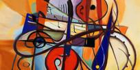 现代装饰抽象油画