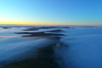 大兴安岭山岭云雾