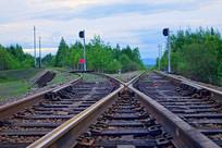 大兴安岭铁路风景