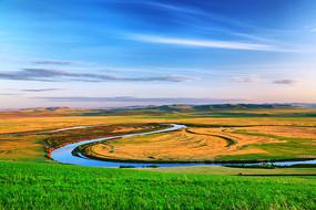 内蒙古额尔古纳河牧场