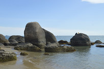 海南三亚天涯海角海岸风光
