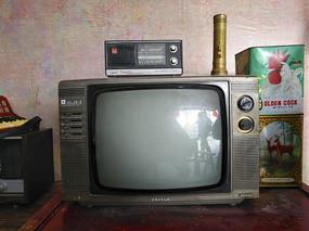 老物件老电视