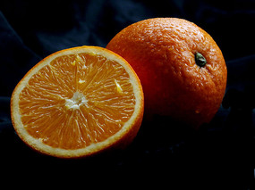 水果橙子图片