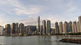 香港高层建筑群