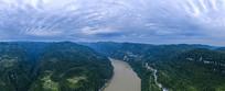 鸟瞰西陵峡风光全景大图