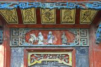 成都西来古镇古塔传统浮雕