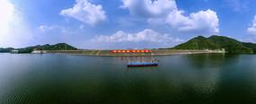 湖光山色全景大图
