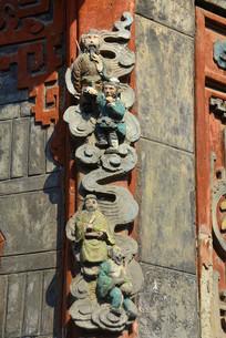 文风塔神仙浮雕装饰