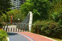 成都江滩公园步行道-锦江绿道
