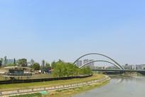 成都锦江上的桐锦南桥