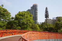 成都世纪城东路人行天桥
