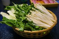 火锅配菜食材-蔬菜拼盘