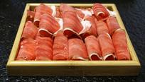 火锅食材羊肉卷
