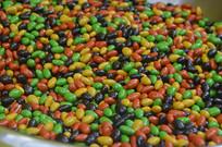巧克力彩虹豆