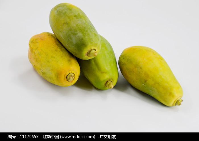四个完整的木瓜图片图片