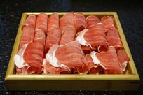 涮羊肉食材-羊肉卷